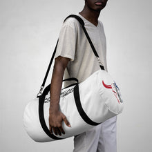 Load image into Gallery viewer, American Rodeo Gear Duffel Bag White