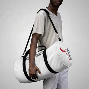 American Rodeo Gear Duffel Bag White