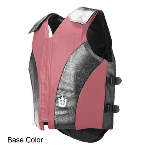 1200 Series Two Tone Bull Riding Vest