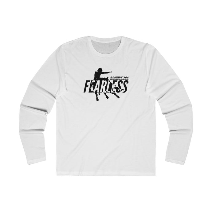 Fearless by American Rodeo Gear Men's Long Sleeve Crew Tee
