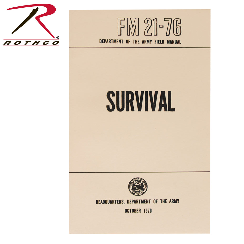 Survival Manual - selfreliancestore.com