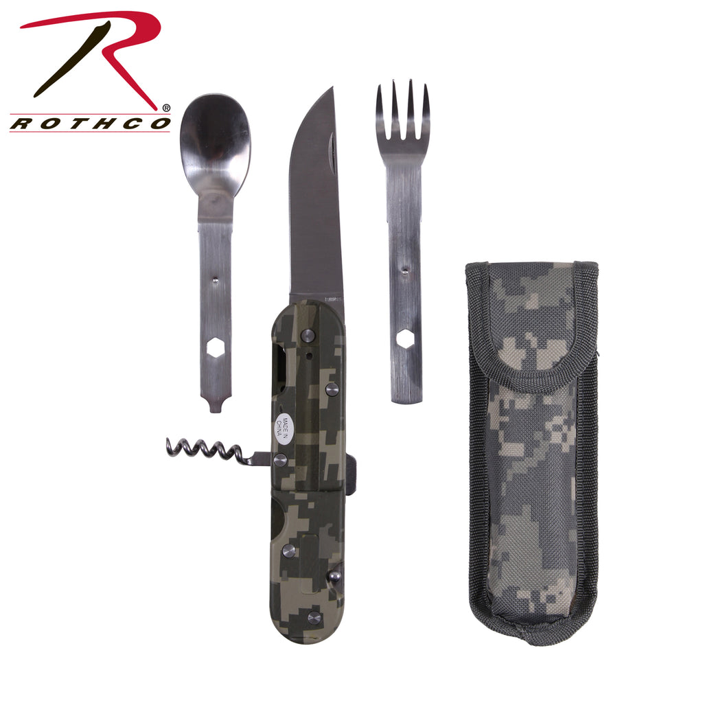 Rothco ACU Digital Foreign Legion 5 In 1 Chow Set - selfreliancestore.com
