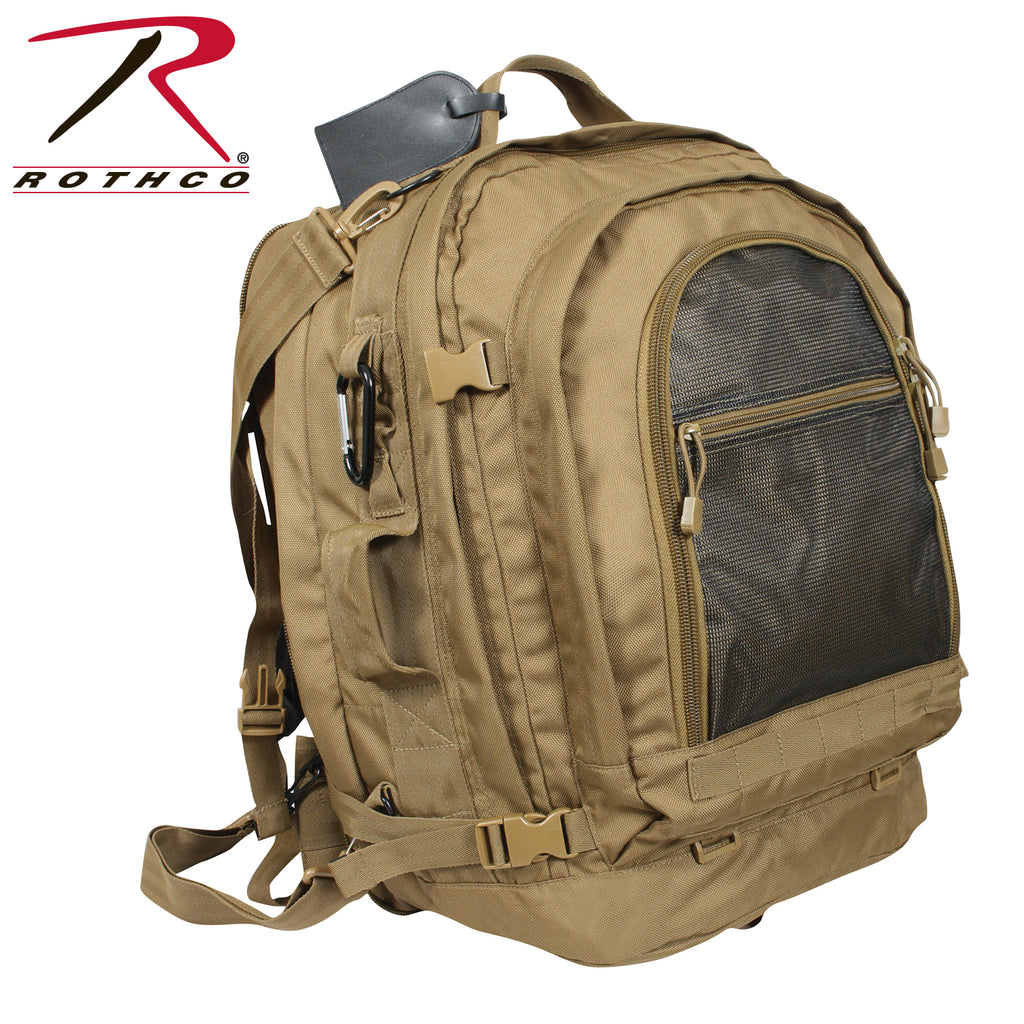 Rothco Move Out Tactical Travel Backpack - selfreliancestore.com