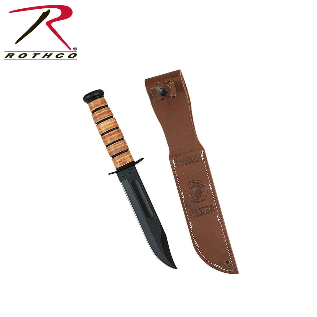 Genuine Ka-bar USMC Survival Knife - selfreliancestore.com
