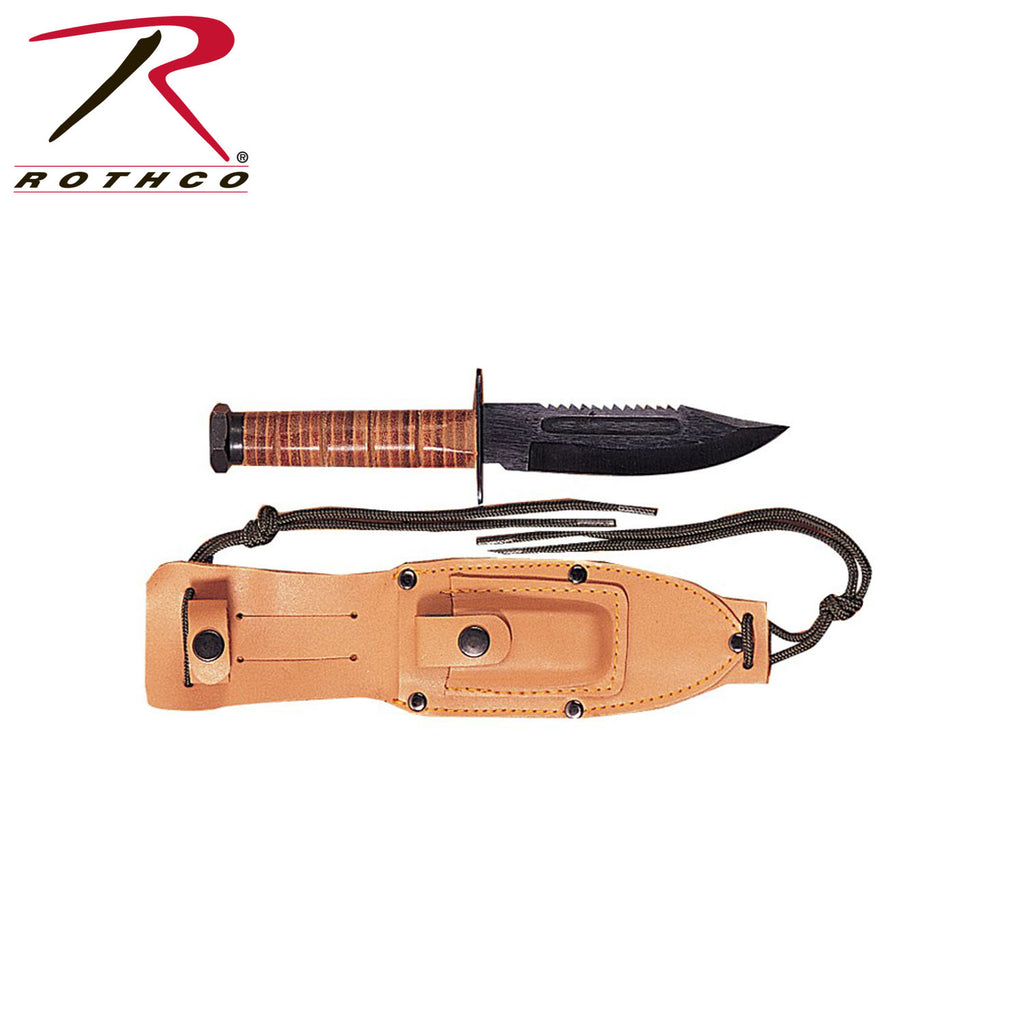 GI Style Pilot's Survival Knife - selfreliancestore.com