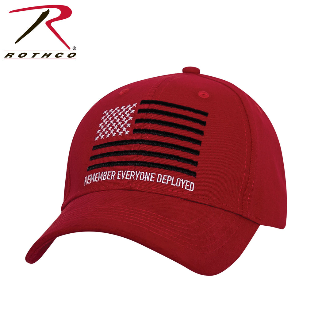 R.E.D. (Remember Everyone Deployed) Low Profile Cap - selfreliancestore.com
