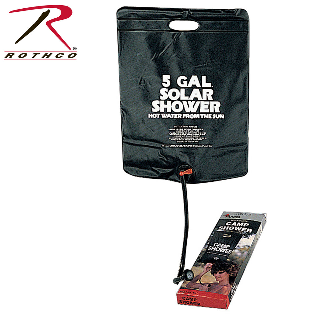 Solar Camp Shower - selfreliancestore.com