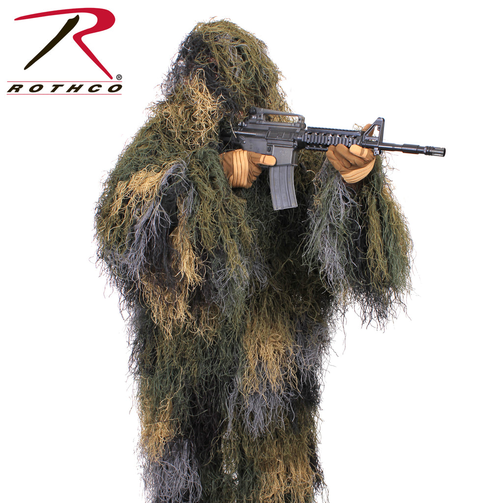 Rothco Lightweight Ghillie Jacket - selfreliancestore.com