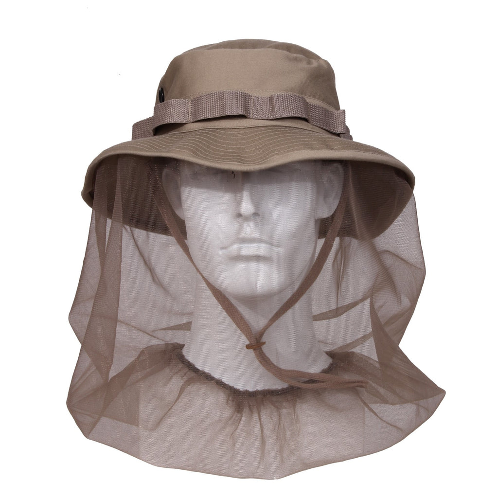 Boonie Hat With Mosquito Netting - selfreliancestore.com