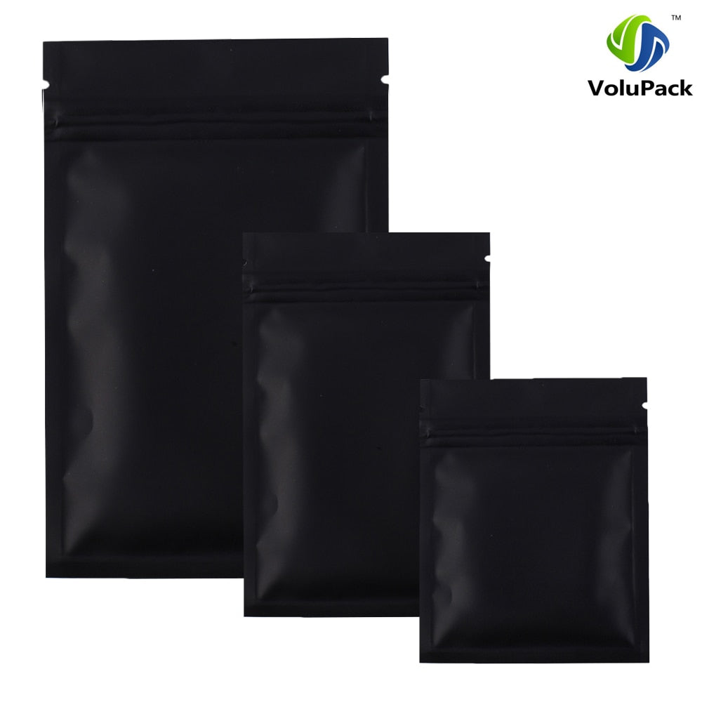 Black Mylar Food Storage Bags - selfreliancestore.com