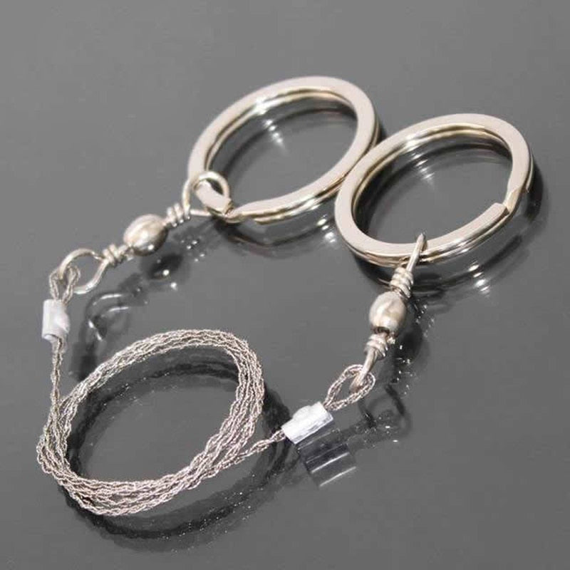 Portable Stainless Steel Wire Saw - selfreliancestore.com