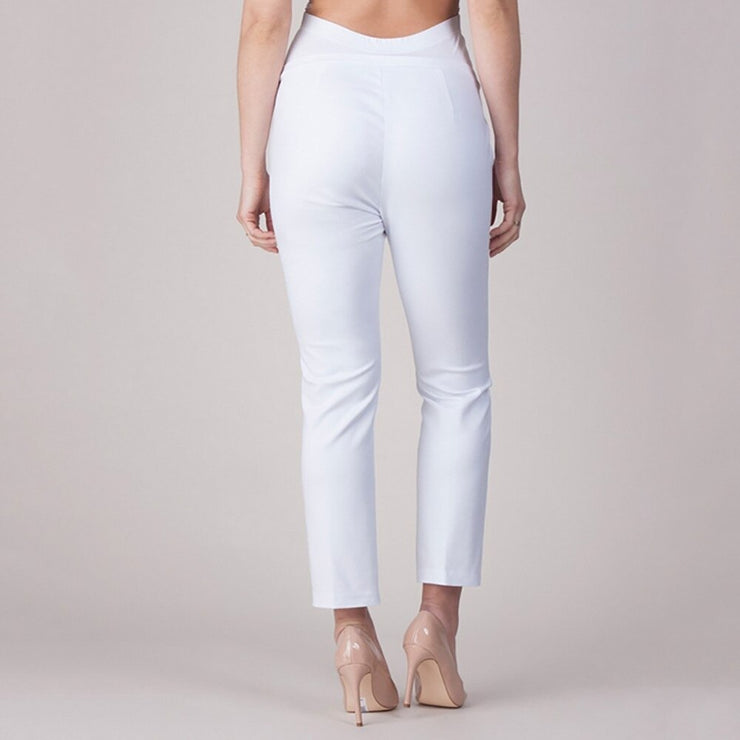 White Maternity Trousers