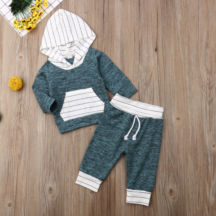 Blue & Stripe Set