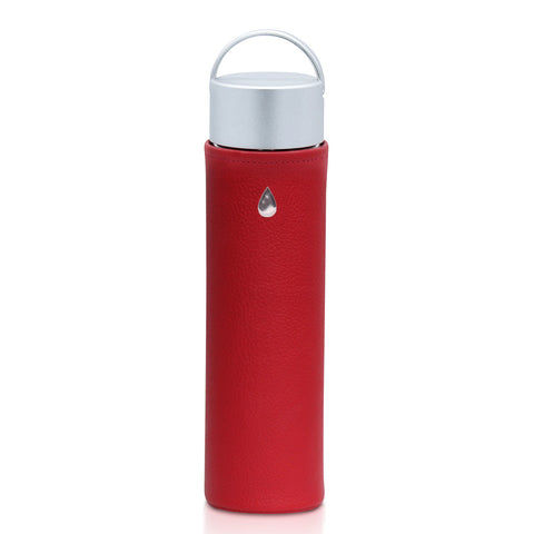 Glass Water Bottle CLASSIC Fire - Liquidsands