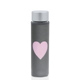 Glass Water Bottle Inspired LOVE - Liquidsands