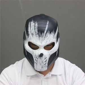 Movie Captain America 3 Cosplay Crossbones Helmet PVC Halloween  Cosplay Helmet Party