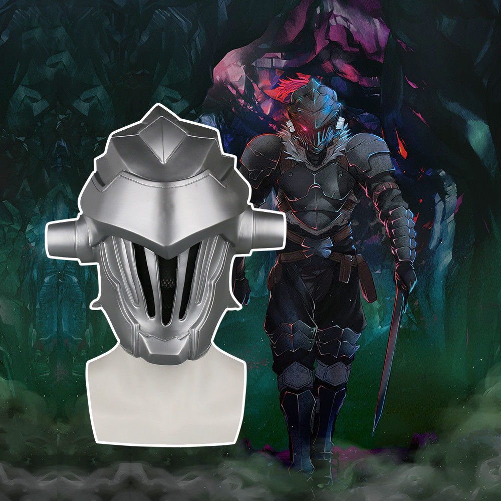 Anime Goblin Slayer helmet Cosplay Halloween Goblin Slayer Helmet helmet Props