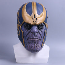 Load image into Gallery viewer, Avengers Infinity War helmet  Cosplay Full Head Latex Super Hero helmet  Halloween Party Prop