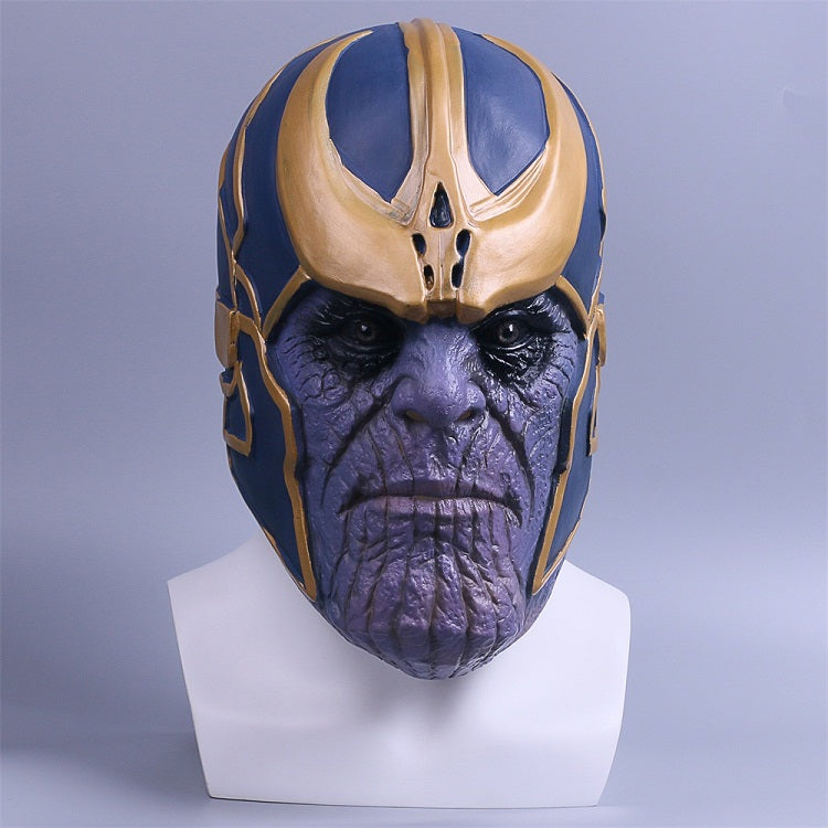 Avengers Infinity War helmet  Cosplay Full Head Latex Super Hero helmet  Halloween Party Prop