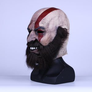 Game God of War Kratos Leviathan helmet Cosplay Kratos Weapon Helmet Halloween Props