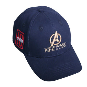Movie Avengers: Infinity War Accessories Hat 10th anniversary cap Hat Souvenir Embroidery Hat Baseball 100% Cotton