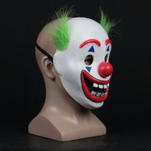 Load image into Gallery viewer, Stephen King It Chapter Two 2 Joker Arthur Fleck helmet Latex Scary Horror Cosplay Clown Halloween Party Costume Props