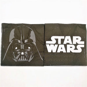 20pcs/bag star wars Theme Party Paper Napkin Paper Tissue  Kids Birthday Party  decoration