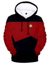 Load image into Gallery viewer, Star Discovery Trek  Hoodie Cosplay children's wear