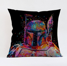 Load image into Gallery viewer, Star Wars character throw pillow Pillowcase + pillow core