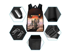 Load image into Gallery viewer, movie Star Wars Schoolbag Cosplay Backpack three-piece