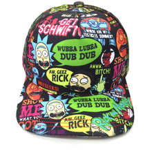 Load image into Gallery viewer, anime Rick and Morty hat Hip hop hat sun hat