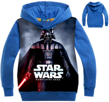 Load image into Gallery viewer, STAR WARS  Cosplay Blue hoodie Kids Clothing
