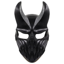 Load image into Gallery viewer, Son of Darkness Deathcore Latex Helmet Halloween Masquerade Party Cosplay Props