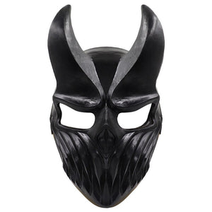 Son of Darkness Deathcore Latex Helmet Halloween Masquerade Party Cosplay Props