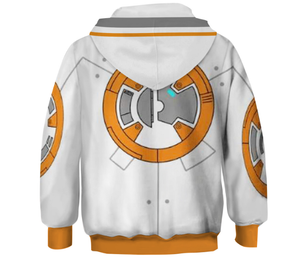 Star Wars Series of children's clothes Skywalker BB8 Cosplay Costume