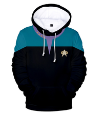 Load image into Gallery viewer, Star Trek 3d Printing Hoodie Cosplay children's wear