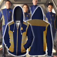 Load image into Gallery viewer, Star Discovery Trek Cosplay Hoodie