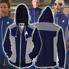 Load image into Gallery viewer, Star Trek Hoodie Cosplay Costume