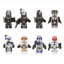 Load image into Gallery viewer, Star Wars Building  Block Toy Wrecker Jesse Commander Cody Ahsokas Clone Troopers Action Children Toy