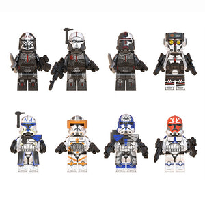 Star Wars Building  Block Toy Wrecker Jesse Commander Cody Ahsokas Clone Troopers Action Children Toy