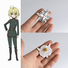 Load image into Gallery viewer, Anime Saga of Tanya the Evil Badge Cosplay Tanya Von Degurechaff Pins Brooches Accessories Metal Souvenir Party Prop