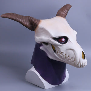 Anime The Ancient Magus' Bride Elias Ainsworth Cosplay Latex helmet Prop Halloween