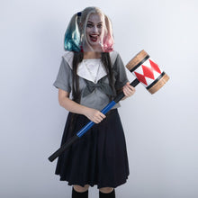 Load image into Gallery viewer, Birds of Prey Cosplay Harley Quinn Mallet Hammer Smile Face Suicide Squad Bat Halloween Props