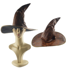 Load image into Gallery viewer, Wizard Hat Party Hats Cosplay Halloween Party  Hat