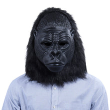 Load image into Gallery viewer, Chimpanzee Latex Helmet Cosplay Halloween Party Costume Props