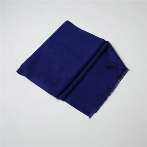Cosplay  Sherlock Holmes Navy Blue Muffler Scarf With Tasseled Ends Cosplay Costume Gift