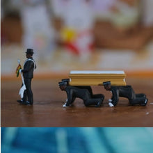 Load image into Gallery viewer, Cosplay Ghana Dancing Pallbearers Coffin Dance Figure Action Funeral Dancing Team Display Funny Accessories