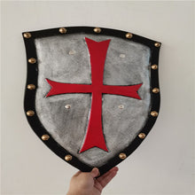 Load image into Gallery viewer, Movie Anime Game Red Crusader Pope Knight Shield Halloween Cosplay Prop Weapon Shield