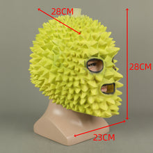 Load image into Gallery viewer, Cosplay Durian Funny Helmet Halloween Props