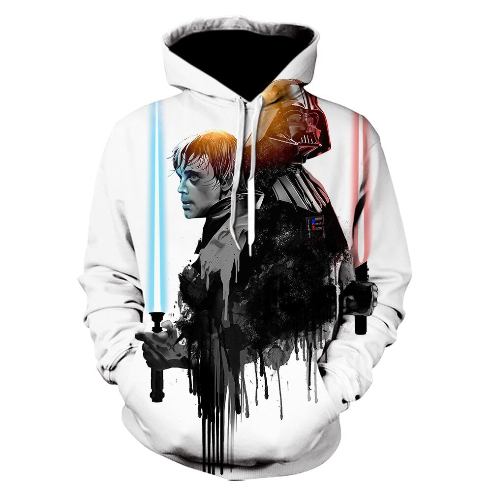 movie Star Wars Cosplay Hoodie sweatshirt